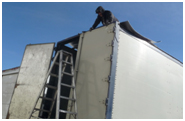 Trailer Roof Repair