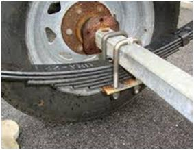 trailer axle repair