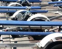 boat trailer repair surge braking units